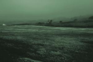 green field artwork landscape