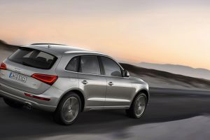 grey cars audi audi q5 suv car