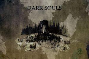 grunge digital art dark souls video games