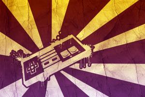 grunge retro games controllers video games digital art abstract nintendo nintendo entertainment system