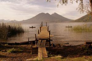 guatemala national geographic landscape boat pier nature