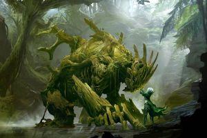 guild wars 2 fantasy art video games