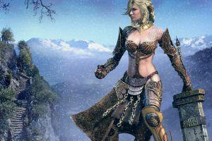 guild wars 2 fantasy girl video games fantasy art