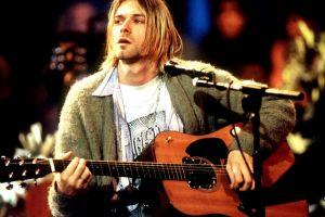 guitarist nirvana musician men kurt cobain