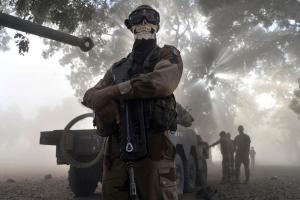 gun soldier machine gun