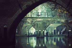 hamburg bicycle germany water bridge