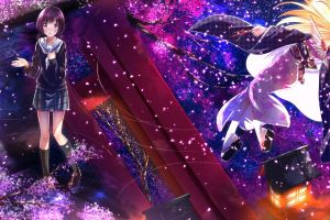 hanayamata anime hannah n. fountainstand swordsouls anime girls school uniform