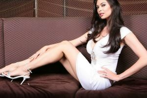 hands on hips women pornstar long hair brunette couch tera patrick