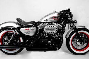 harley davidson chrome white background motorcycle