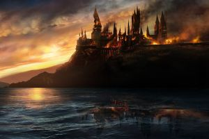 harry potter hogwarts fire movies