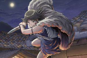 hayao miyazaki princess mononoke anime anime girls