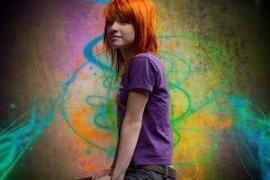 hayley williams redhead singer women