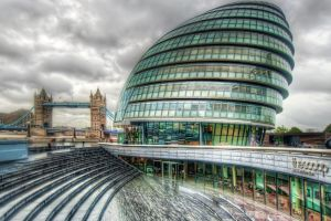hdr london building