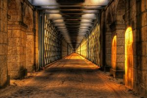 hdr tunnel sunlight architecture point of view arch