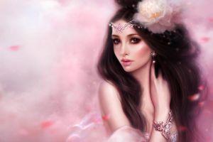 headband fantasy girl fantasy art artwork bracelets women