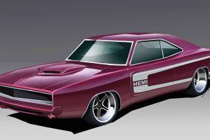 hemi car vehicle artwork