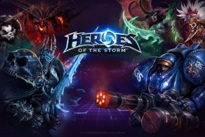 heroes of the storm blizzard entertainment digital art artwork video games
