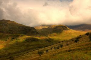 hills nature landscape