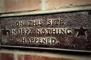 history signs bricks humor