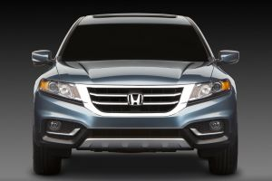 honda crosstour honda suv car blue cars