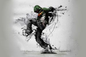 hoods dancer men digital art
