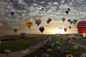 hot air balloons sky balloon