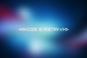 html artwork typography