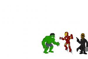 hulk nick fury iron man the simpsons