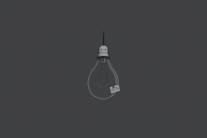 humor lightbulb simple dark humor minimalism