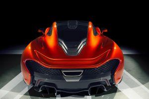 hybrid british cars orange cars mid-engine car hypercar mclaren p1