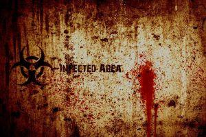 infection blood biohazard