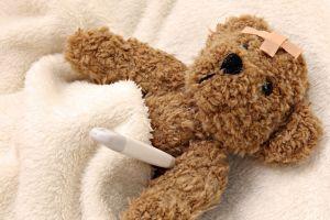 injured teddy bears toys