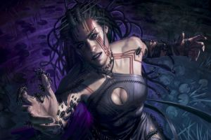 insect magic: the gathering artwork fantasy art women
