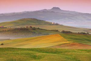 italy landscape field