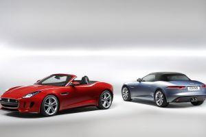 jaguar f-type car red cars vehicle
