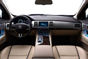 jaguar xf vehicle car interior car