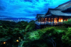 japan building landscape house