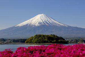 japan mountains landscape mount fuji