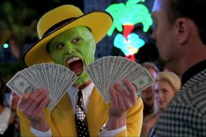jim carrey money the mask film stills
