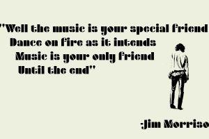 jim morrison the doors (music) rock music music typography