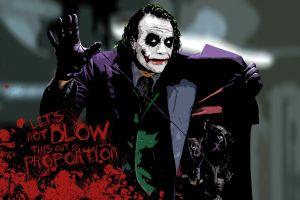 joker paint splatter batman typography messenjahmatt the dark knight heath ledger movies