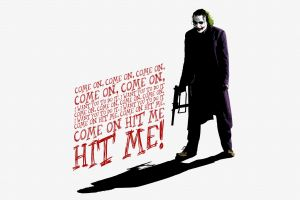 joker typography quote movies batman heath ledger the dark knight