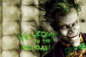 joker video games rocksteady studios batman: arkham asylum batman