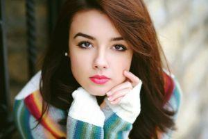 juicy lips model portrait face women photography
