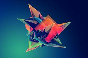 justin maller facets digital art abstract geometry