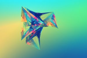 justin maller facets digital art shapes abstract