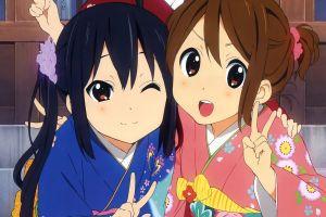 k-on! anime hirasawa yui nakano azusa anime girls