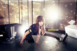 k-pop girls' generation model korean lee soonkyu women asian