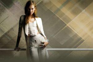 karlie kloss model rings pants women