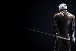 katana video games artwork gray fox (character) metal gear solid  metal gear